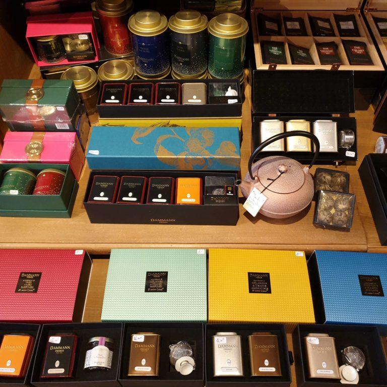 Coffrets de thé et accessoires Dammann Frères