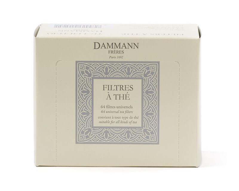 Filtres à thé universels Dammann Frères