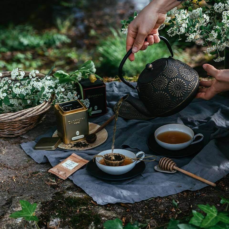 Service du thé tradition Dammann Frères